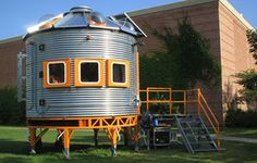 recording studio..... it will remind me of home because it looks like a grain bin. :)
