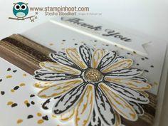Sneak Peek, Stampin' Up! Daisy Delight Bundle, Daisy Delight Photopolymer Stamp Set, Daisy Punch, New, Stampin' Hoot!, Stesha Bloodhart