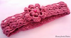 Beauty Crochet Pattern: EASY CROCHET PATTERN HEADBAND