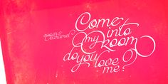 Paradise Script from MyFonts.com