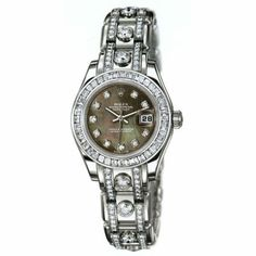 Rolex Oyster Perpetual Lady-Datejust Pearlmaster 29 mm Or Gris ...