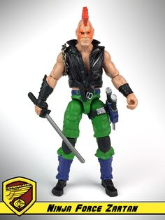 Zartan Ninja Force :: G.I. Joe - Cobra Custom