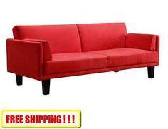 Sleeper Sofa Bed Futon Couch Living Room Furniture Microfiber Lounger Mattress