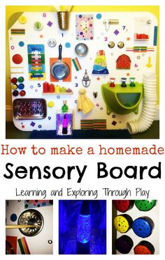 Homemade Sensory Board