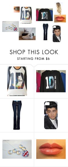 """""""Concert Zayn"""" by victaylor-foreves ❤ liked on Polyvore featuring Paige Denim and Converse"""