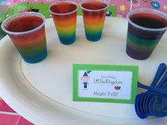 Magic Jelly. Ben and Holly's little Kingdom party