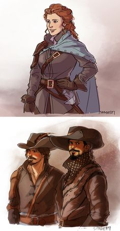 musketeers by Spader7 (BBC)