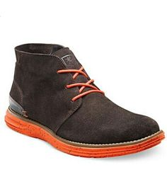 Stacy Adams Aldrin Plain Toe suede mens Boots