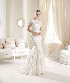Vestido de novia modelo Idde de la casa de novias La Sposa disponible en la tienda de novias De Novia a Novia. San Jose, Costa Rica