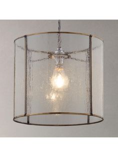 Buy Croft Collection Leighton Easy-to-Fit Bubble Glass Ceiling Shade from our Ceiling Lighting range at John Lewis & Partners. Free Delivery on orders over Lantern Ceiling Lights, Brass Ceiling Light, Ceiling Shades, Glass Ceiling, Porch Lighting, Rustic Lighting, Ceiling Lighting, Kitchen Lighting, Lighting Ideas