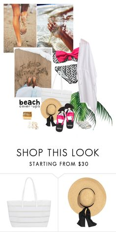 """""""Untitled #1051"""" by wannanna ❤ liked on Polyvore featuring BUCO, Lauren Ralph Lauren and coverups"""