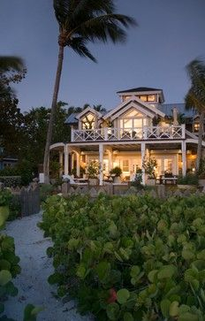 Natural waterfront Naples, Florida home surrounded by sea grapes. Sweet!!
