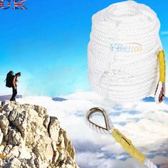 60/90m safety #climbing tree rock #sling rappelling rope auxiliary cord #equipmen,  View more on the LINK: http://www.zeppy.io/product/gb/2/381687687602/