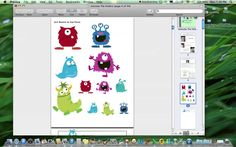 Video Product Preview for File Folder Activities - Monster Themed by theautismhelper.com