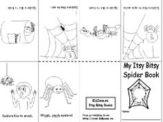 This kindergarten teacher has compiled everything SPIDERS that is FREE on the web! What a find!