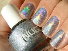 holographic nail polish.