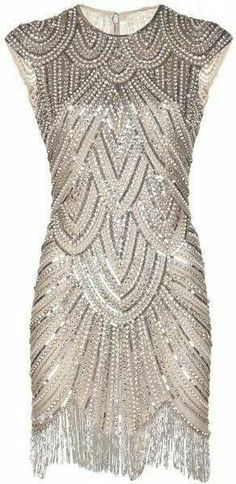 Stunning art deco dress