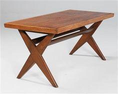 "A ""Judge"" coffee table, Pierre Jeanneret"