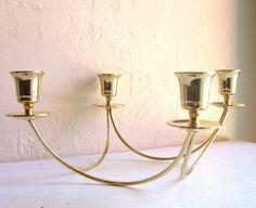 Hollywood Regency Gold Candelabra -ShabbyNChic