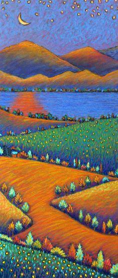 Dandelion Lake ~ Daryl V. Storrs