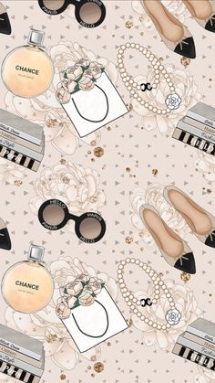 60 Ideas Wall Paper Girly Princesses Breakfast For 2019 Chanel Wallpapers, Makeup Wallpapers, Cute Wallpapers, Screen Wallpaper, Wallpaper Backgrounds, Wallpaper Wa, Mode Poster, Fashion Background, Fashion Wallpaper