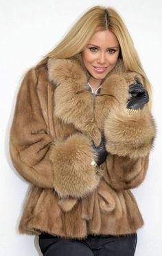 Would love it if it were faux fur instead.  OUTLET PASTEL MINK FUR COAT NERZJACKE NERZ PELZJACKE PELZ VISONE WIE FUCHS FOX | eBay