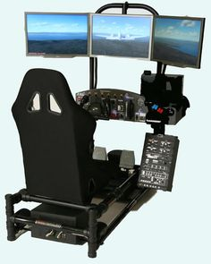 At just over 17 grand, this is the ultimate flight simulator. Perfect for my game room.