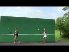 Tennis Drills - Volley - The Best Drill Progression to Improve your Volley - YouTube
