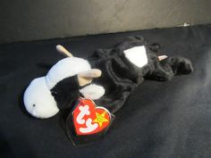 Vintage 1993-1994 Daisy the cow Beanie Baby by mariehotdeals on Etsy