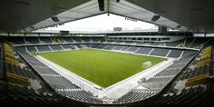The boys have a show here tonight in Berne, Switzerland at the Stade De Suisse! Where We Are Tour, Sport Craft, Sports Complex, Green Architecture, Event Venues, Tours, Building, Switzerland, Europe