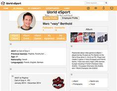 World eSport, un réseau social eSport - World eSport est un réseau professionnel…