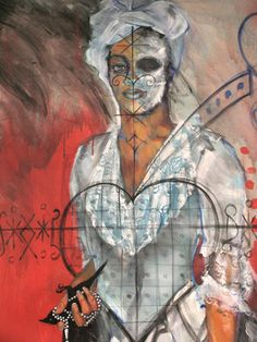 """Portrait of Marie Laveau"" - Marian Semic"