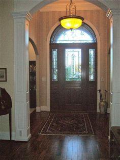 Inside front entrance