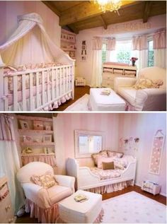 shabby chic nursery    ideas & inspiration curated and collected by @partydesignshop