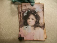 XL Victorian Beauty with Bonnet Gift by smtiffanylane on Etsy, $5.50