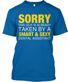 Now we know who took all the good guys! And isn't 'smart' and 'sexy' redundant when describing dental assistants? http://dentalinsurancestore.com/resources/agent-straight-talk/agent-straight-talk/2014/04/01/playing-the-dental-plan-dating-game