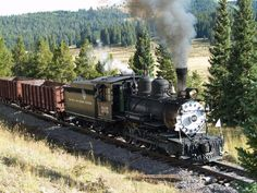 C-16 , #315 On the Cumbres And Toltec line.