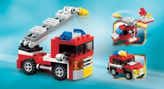 LEGO® Creator sets deliver a rewarding build and play experience with highly detailed and colorful LEGO houses, vehicles and creatures. Lego Creator, Lego House, Legos, Nerf, Toys, Vehicles, Color, Minis, Lego Home