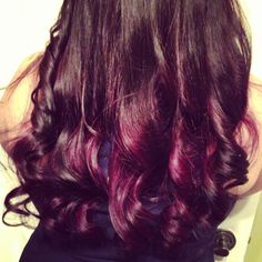 ombre purple hair color-- or maybe I should do this instead.. Too many options!