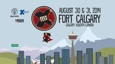 Here's another compelling reason to Visit Calgary - amazing music festivals.  Check out the X-FEST 2014 line-up performing at Fort Calgary Aug 30 & 31/14.