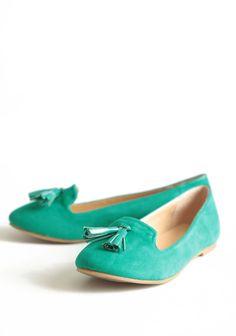 tasseled loafers $33