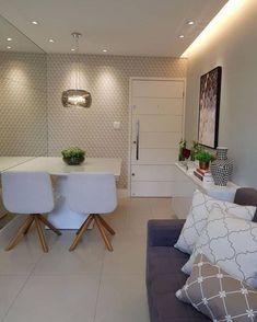 Home Design Decor, House Design, Interior Design, Home Decor, Dinner Room, Decorating Small Spaces, Modern Kitchen Design, Apartment Design, Small Apartments