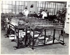 #CensusHistory U.S. Census Bureau technicians above built mechanical sorters to organize the millions of punch cards that clerks produced following each census.  Although punch cards were used by the Census Bureau's first computer - UNIVAC I - in the early 1950s, they were replaced by the Film Optical Sensing Device for Input to Computers (FOSDIC) introduced in 1954 and used to tabulate the 1960 Census.  FOSDIC read pencil-filled dots on microfilmed questionnaires and translated these marks…