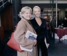 Con Paula Vazquez en la Academia de la Tele