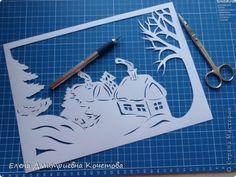 Давно носила в себе идею сделать туннель на тематику заснеженной деревеньки, чтобы ощущалось рождественское настроение и домашнее тепло в засыпанных снегом домах. Вот и родилось сие творение! Надеюсь, Вам понравится! фото 2