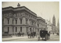 The Vanderbilt Houses, Fifth Avenue, New York  19th century