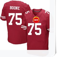 $66.00--Alex Boone Jersey - Elite Red Home Nike Stitched San Francisco 49ers  Jersey,Free Shipping! Buy it now:http://is.gd/7ptFYz