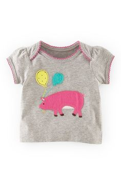 Mini Boden 'Sweet' Appliqué Tee (Baby Girls) available at #Nordstrom