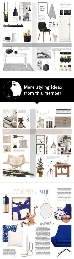 """Cozy Kitchen"" by c-silla on Polyvore featuring interior, interiors, interior design, home, home decor, interior decorating, Authentics, abcDNA, Serena & Lily and Marimekko"