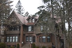 Zar and Francis Scott Tudor Revival home was built in 1907 by William A. Hunt - 2125 E. 1st St. Duluth, MN